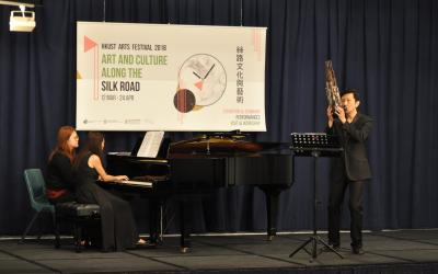 HKUST Arts Festival 2018 - Sheng and Piano Duo Recital by LOO, Sze-wang and May TONG